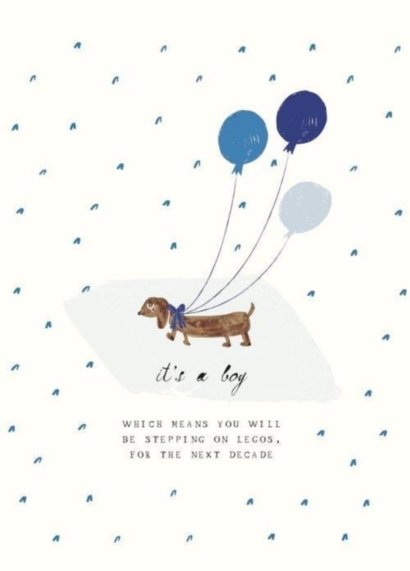 MR. BODDINGTON Greeting Card - One Precious Pup