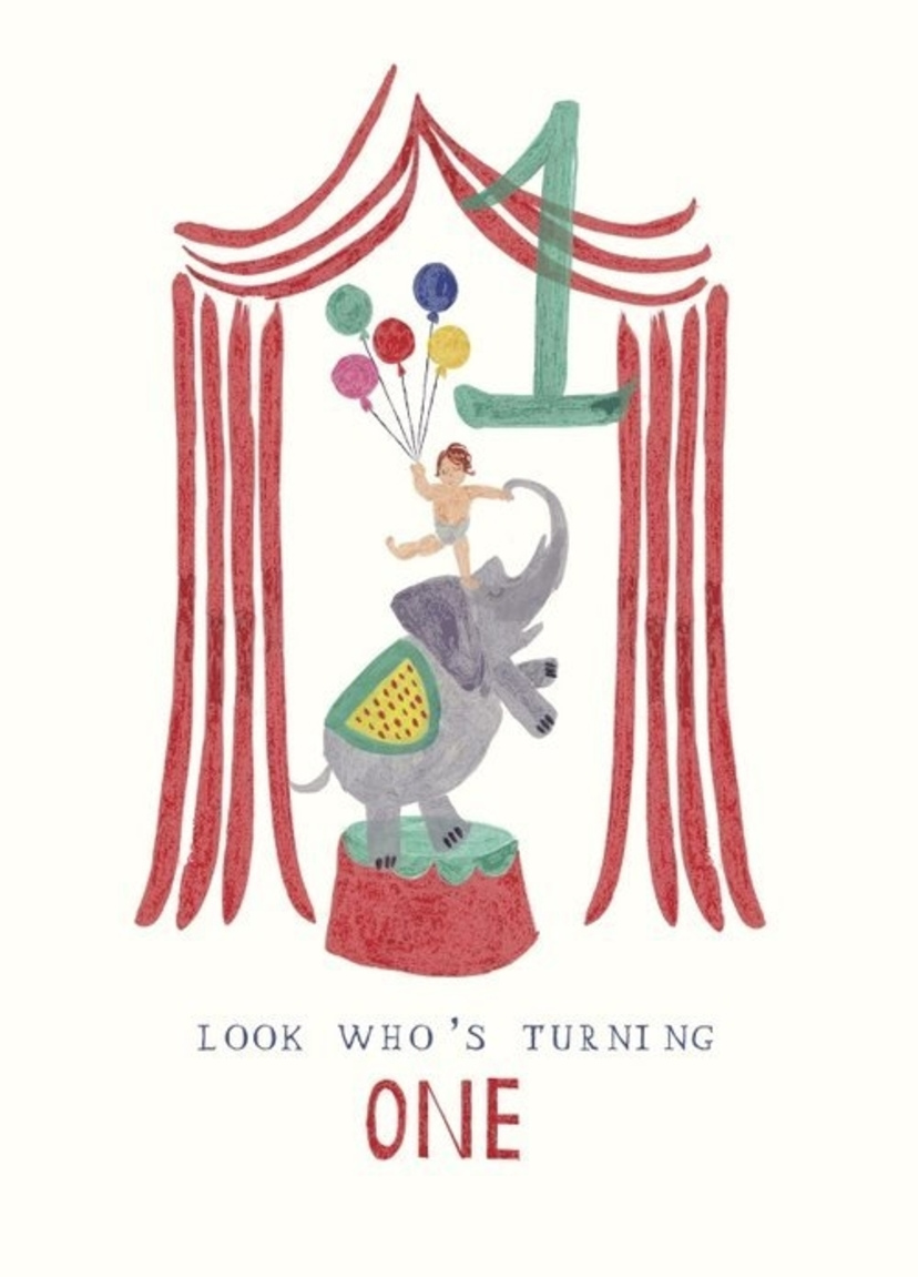 MR. BODDINGTON Birthday Card - One Ellie Elephant