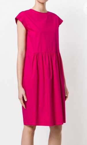 Odeeh Fuchsia cotton poplin dress SOLD Dresses