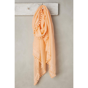 Matta Dupatta Shawl - Peach Accessories