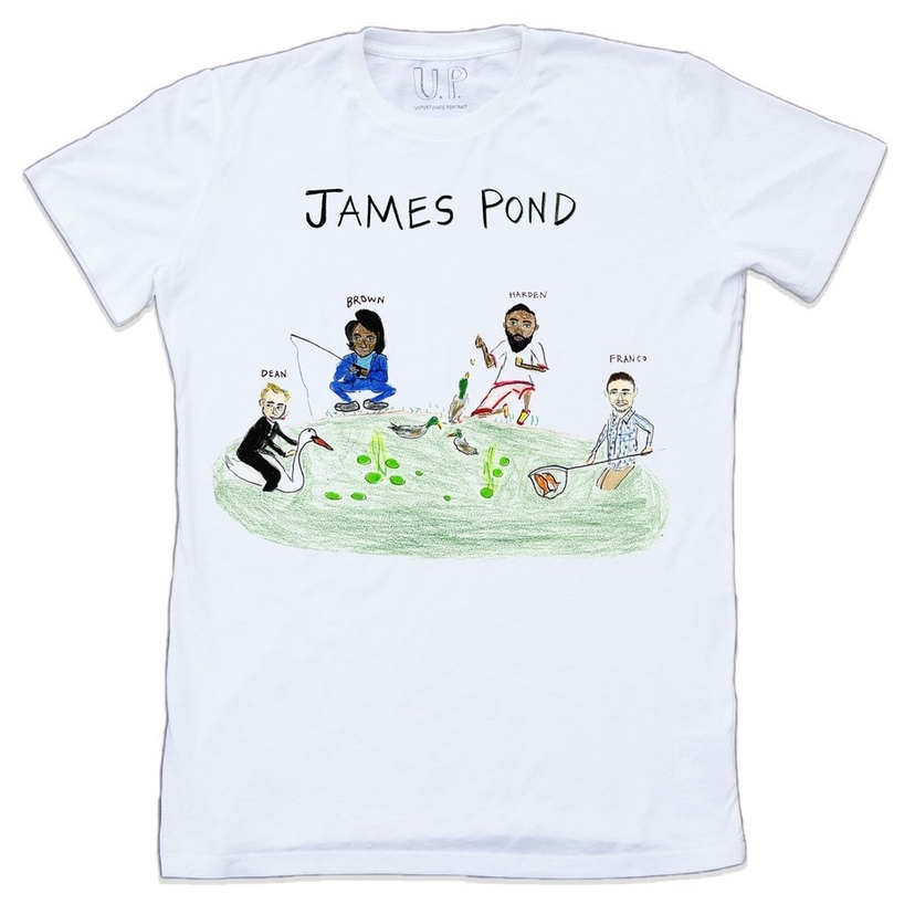 Unfortunate Portrait James Pond Tee (Originally $75) Gifts Sale Tops
