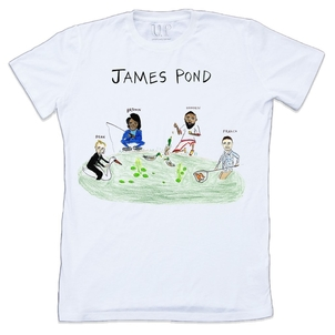 Unfortunate Portrait James Pond Tee Tops