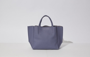 Ampersand As Apostrophe Half Tote - Blue Bags