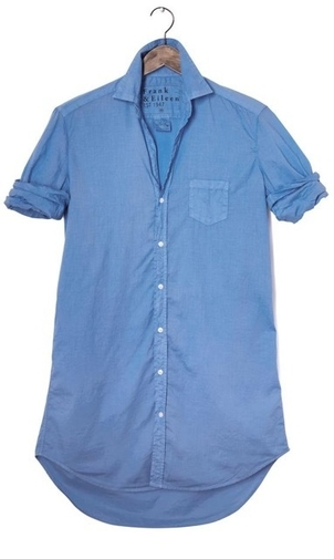 Frank & Eileen FRANK AND EILEEN MARY L/S BUTTON DOWN PERIWINKLE Tops