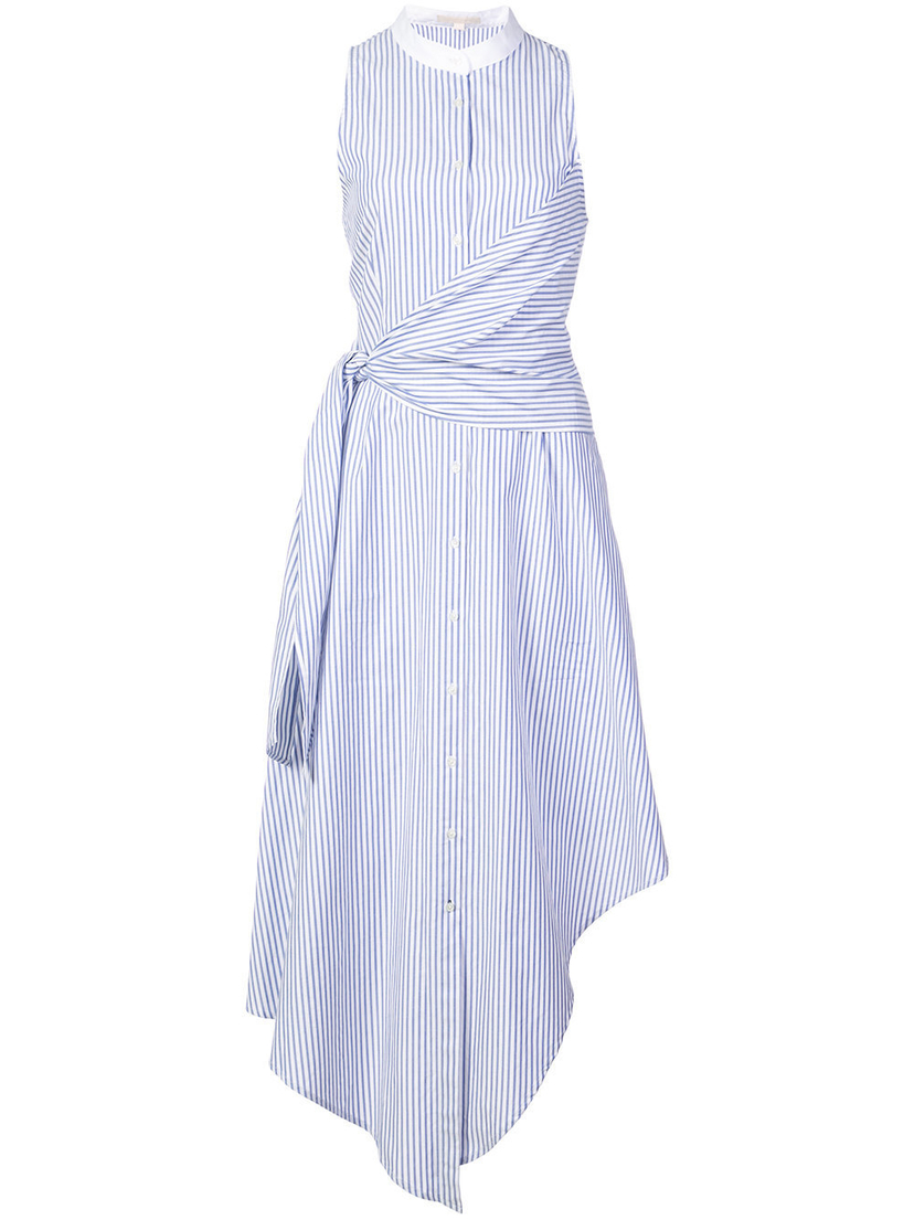Jonathan Simkhai Asymmetrical Oxford Maxi Dress (Originally $413) Dresses Sale
