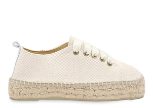 Manebi Lace Up Espadrille (Originally $150) Sale Shoes