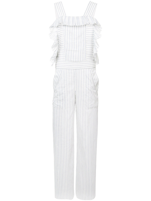 Philosophy di Lorenzo Serafini Sleeveless Striped Jumpsuit (Originally $1,250) Sale
