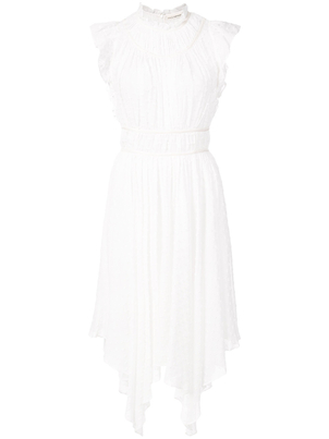 Ulla Johnson Jules High Neck Ruffle Sleeve Dress (Originally $550) Dresses Sale
