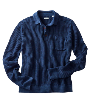 OOBE BRAND THOMPSON POLO SWEATER Men's