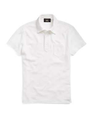 RRL KNIT POLO Men's