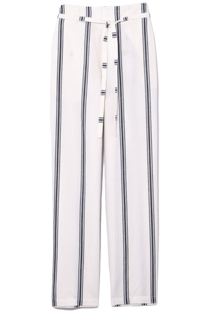 rag & bone Oasis Pant in Ivory/Navy Pants