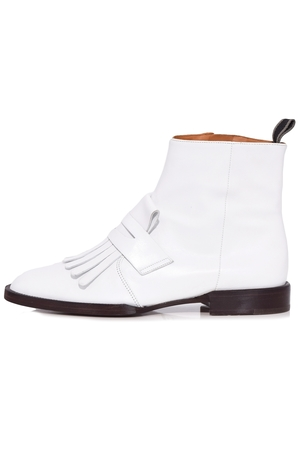 Robert Clergerie Yousc Boot in White Shoes
