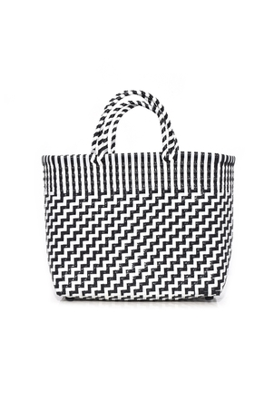 Truss Small Tote in Black/White Bags