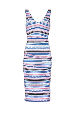 Nicole Miller Wren Dress - Stripe Dresses