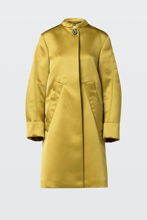 Dorothee Schumacher Mysterious Shine 'Golden' coat Outerwear