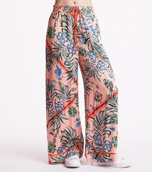 Odd Molly Passionista Pant - Pink/Orange Pants