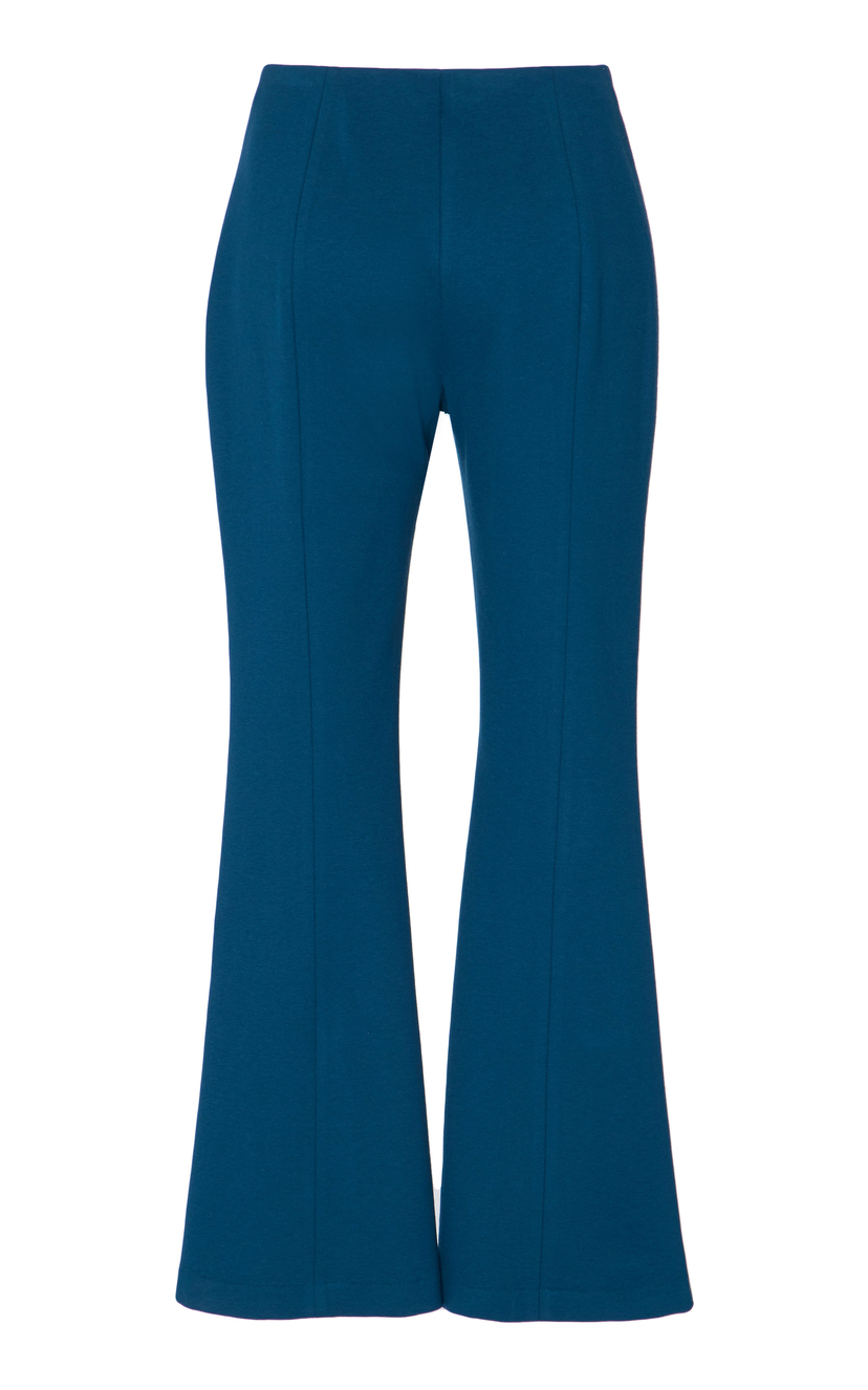 Rosetta Getty Cropped Flared Pant Pants