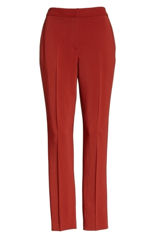 Rosetta Getty Cropped Skinny Trouser Pants