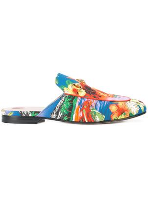Gucci Princetown Hawaiian Loafers Shoes