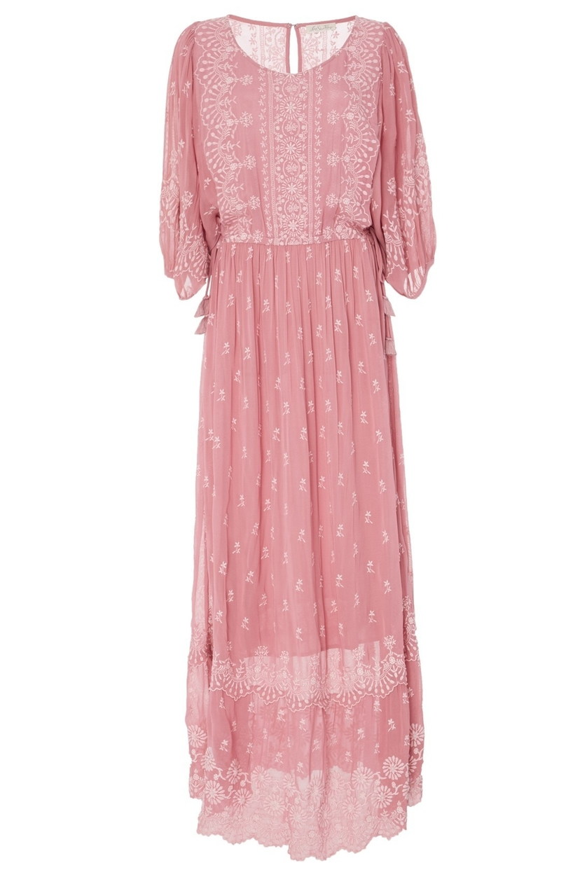 Loveshackfancy Cecily Dress in Tea Rose Dresses