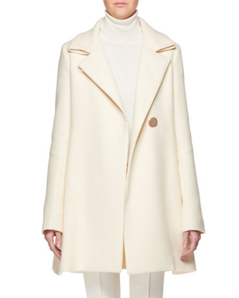 The Row THE ROW RALTY COAT NATURAL Outerwear