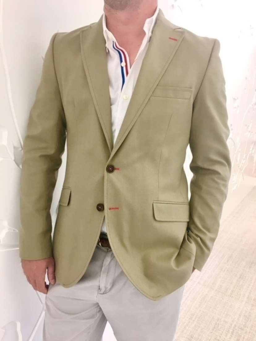 El Ganso Spain Beige Blazer Men's
