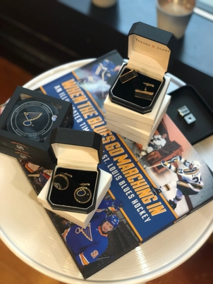 Tokens & Icons Blues Fan Gifts for Dad Gifts