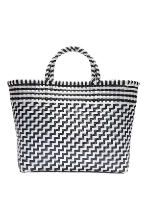 Truss Large Tote in Black/White Bags