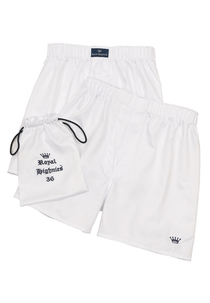 Royal Highnies Cotton Boxers (Set of 2) Men's