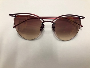 Smoke x Mirrors SMOKE AND MIRRORS LINE 4 CATEYE SCARLET GRADIENT PINK LENS Accessories