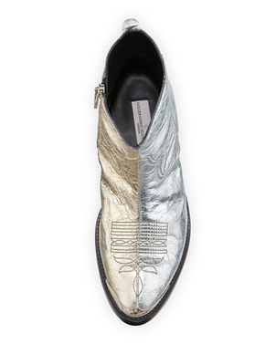 Golden Goose Deluxe Brand GOLDEN GOOSE YOUNG BOOTS GOLD/SILVER Shoes