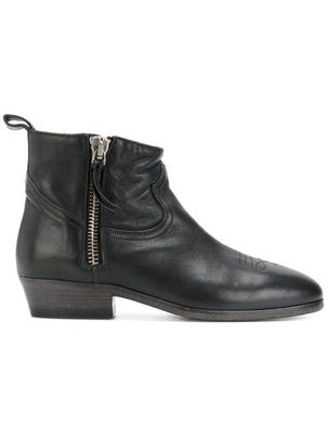 Golden Goose Deluxe Brand GOLDEN GOOSE VIAND BOOT BLACK LEATHER Shoes