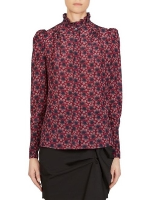 Isabel Marant ISABEL MARANT LAMIA TOP MIDNIGHT Tops