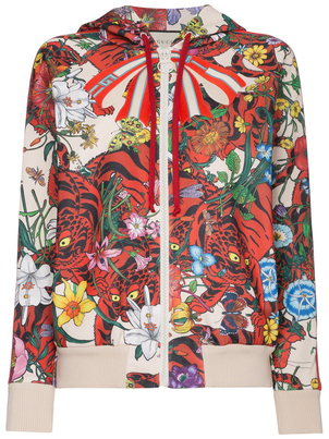 Gucci Floral Jacket Outerwear