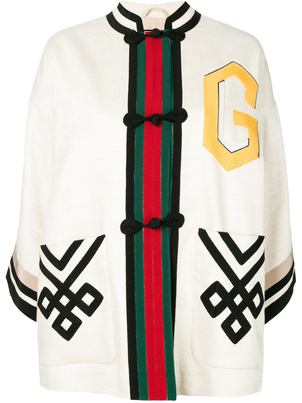 Gucci Li Guru Ribbon Jacket Outerwear