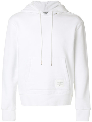 Thom Browne HOODIE PULLOVER WITH STRIPE Men's Sale