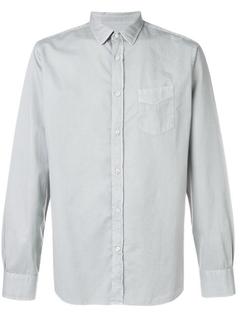 Officine Générale LIPP STITCH PIGMENT DYE SHIRT Men's