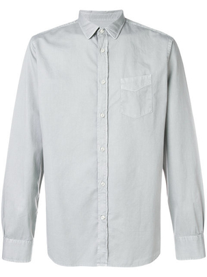 Officine Générale LIPP STITCH PIGMENT DYD SHIRT Men's