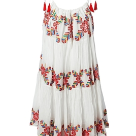 3-Way Embroidered Dress