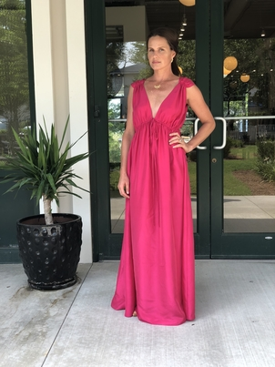 Loup Charmant Sirena Gown Silk(originally $650) Dresses Sale