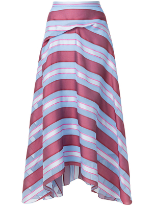 Sies Marjan Striped Skirt (Originally $1495) Sale Skirts