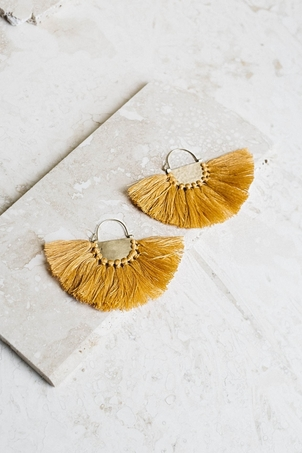 Joya Favorite Fringe Earrings - Marigold Jewelry