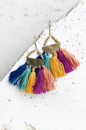 Joya Jori Earrings - Rainbow Jewelry