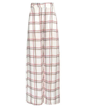 PatBo Tartan Wide Leg Pant - Plaid Pants