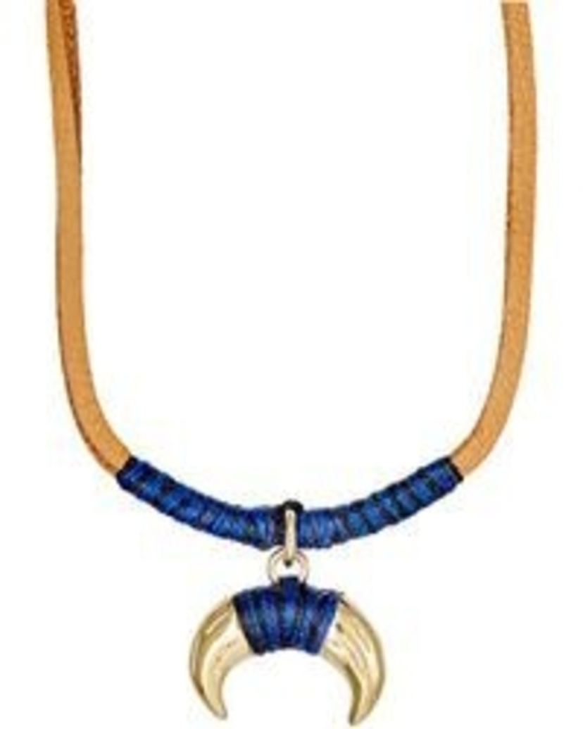 Aurélie Bidermann Takayama Necklace Navy/Black Jewelry