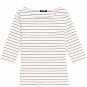 Saint James Garde Tee - Neige/Sable