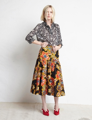 Warm Ines Blouse + Path Skirt(sold) Skirts Tops