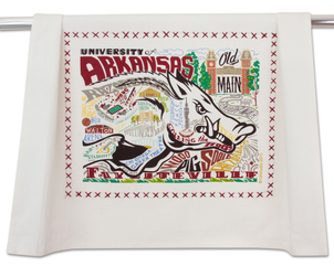 University of Arkansas Dish Towel Gifts Home decor