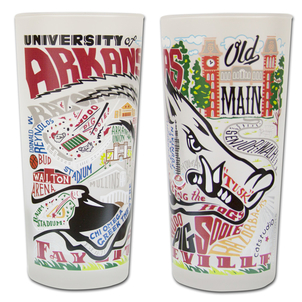 University of Arkansas Drinking Glasses Gifts Home decor