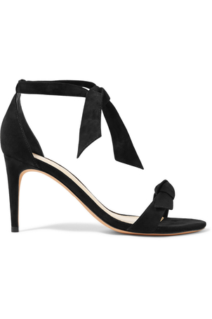 Alexandre Birman Clarita in Black Suede Shoes